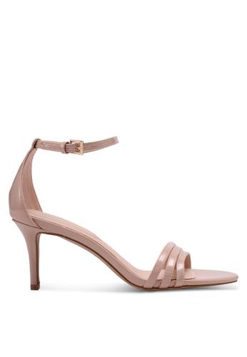 ALDO 米褐色 Gwung Heeled Sandals 5C178SHC5DAEB5GS_1