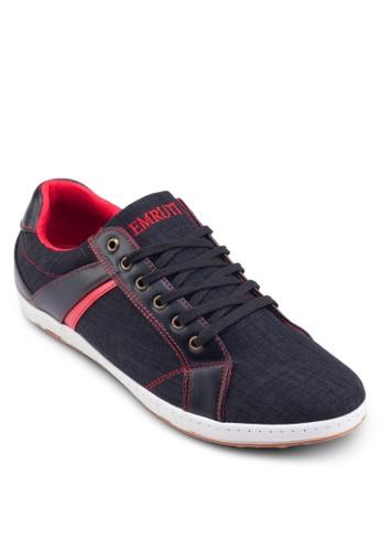 丹寧繫帶esprit tw運動鞋, 鞋, 鞋