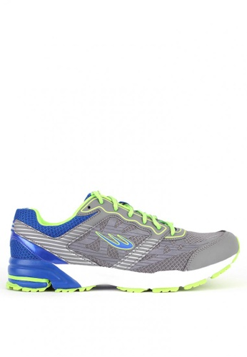 World Balance grey Terra Stride MS Running Shoes 598B4SH2792E61GS_1
