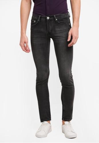 Electro Denim Lab black Dub Tight Fit Jeans EL966AA0SF81MY_1