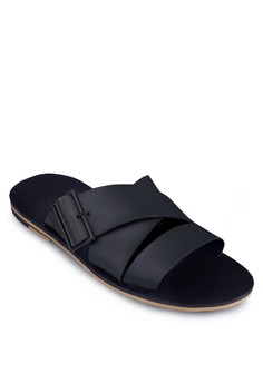 Buckled Flat Sandals