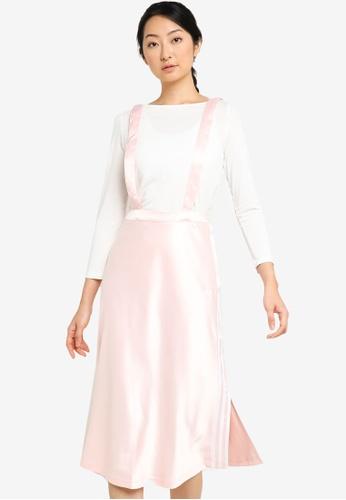 ADIDAS 粉紅色 bellista sports skirt ED428AACFFA2B7GS_1