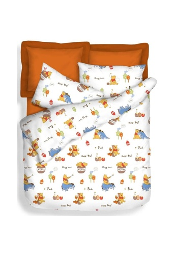 Eurotex Disney Microluxe Happy Day, Summer Light Quilt Disney's Winnie The Pooh. 50332HLB88BB24GS_1