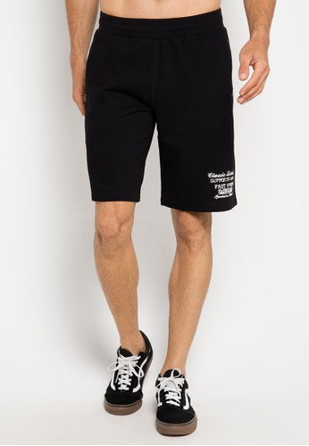 OPELON black Mens Shorts OP005AA0ULB3ID_1