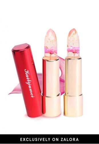 Kailijumei red Kailijumei Lipstick- Flame Red Duo Set KA452BE26QNDMY_1