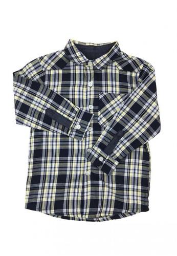 Modernform International blue Stylish Shirt for Kids (R44) F34E5KAA3B6EE6GS_1