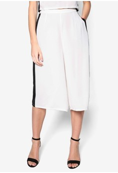 Colourblock Crop Culottes