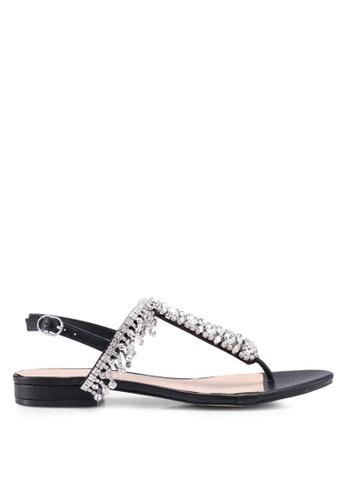 ALDO 黑色 Daropang Flat Sandals C432ASH48C8D5EGS_1