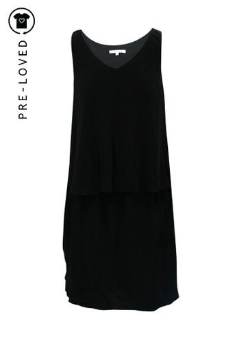 Carven black Pre-Loved carven Black Flaterring Dress B538AAA61B12CDGS_1