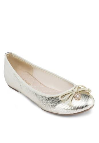 經典蝴蝶結平底鞋, esprit台灣女鞋, 鞋