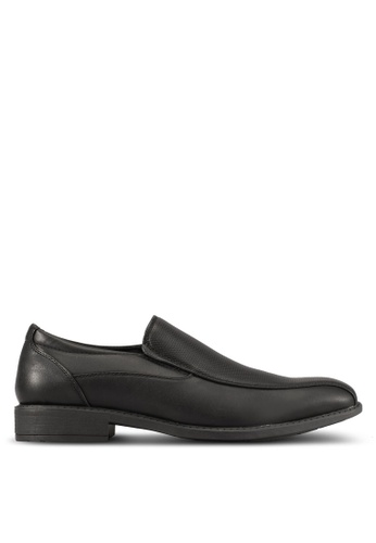 Knight black Faux-Leather Dress Shoes KN875SH0S9ROMY_1