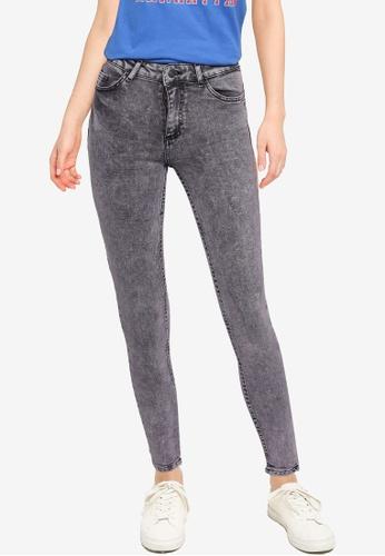 Aeropostale grey Mid Rise Skinny Jeans DF875AAF5E965AGS_1