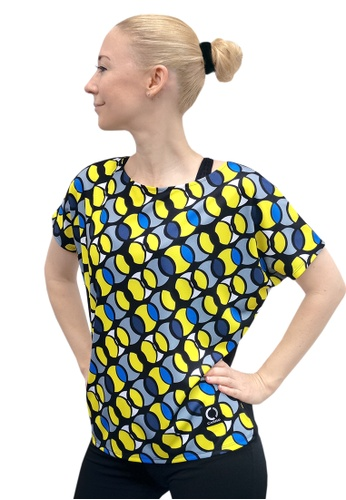 CARRO black and yellow and blue and multi 3Sixty Women's Top Yellow 13379AA9551C8AGS_1