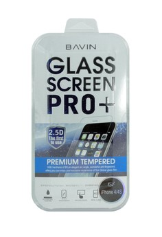 BAVIN Glass Screen Pro + for iPhone 4 / 4S