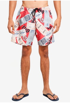 944f21cf74 Topman multi Dollar Print Swim Shorts 2D3F7USC22D01CGS 1