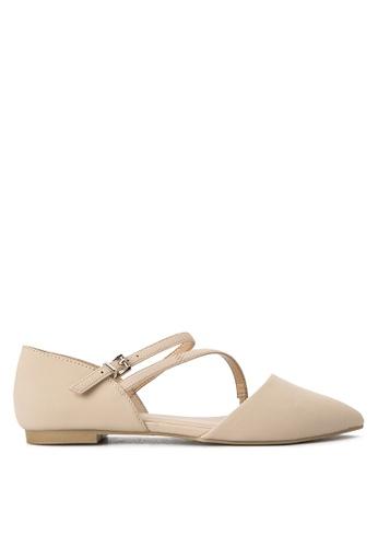 Call It Spring beige Nespolo Ballet Flats CA427SH0JLMNPH_1