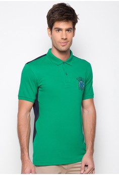 Two-Toned Polo Shirt