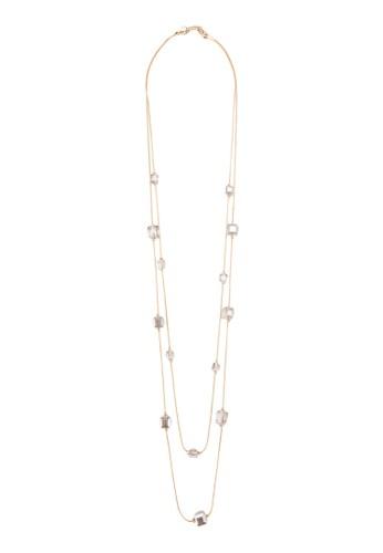 層次方塊長項鍊、 飾品配件、 飾品配件Red'sRevenge層次方塊長項鍊最新折價