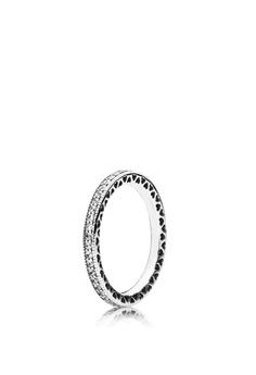 02661b4ec Pandora silver Silver Ring With Clear Cubic Zirconia 7FAD8ACF177994GS_1