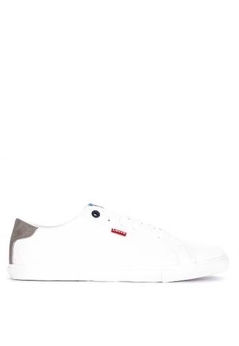 Levi's white Woods Sportswear Sneakers 3005ASH8BB7C2AGS_1