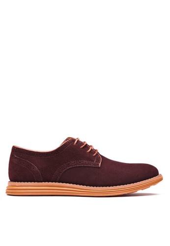 Twenty Eight Shoes 褐色 VANSA 牛猄休閒鞋  VSM-C9999 C08EASH8D889AFGS_1