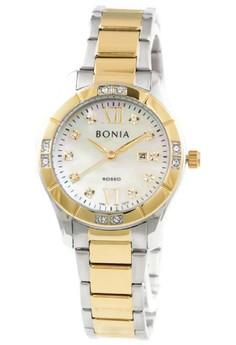 harga Bonia Rosso BNB10276-2125S Jam Tangan Wanita Stainless Steel Silver Kombinasi Gold Zalora.co.id