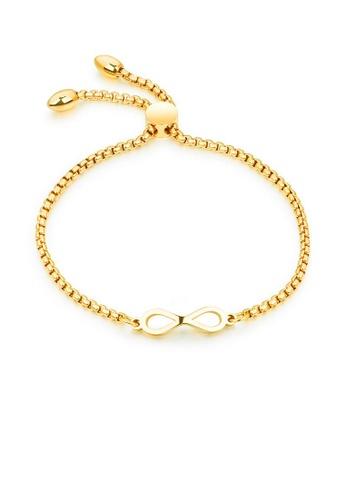 ADORA Stainless Steel Gold Bracelet 1D7F1AC0A05564GS_1