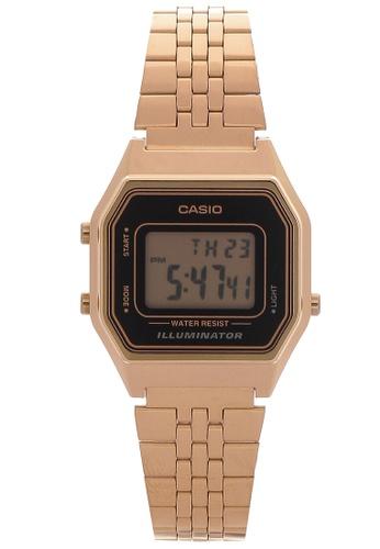 Casio black and gold Digital Watch LA680WGA-1D CA076AC86UJXPH_1