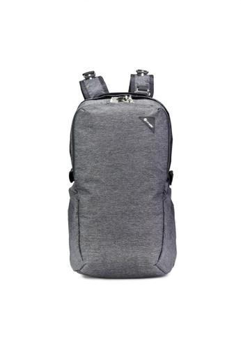Pacsafe grey Pacsafe Vibe 25L Anti-Theft Backpack (Granite Melange) 84DD1AC374DED0GS_1