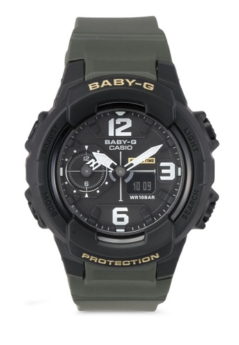 Casio 黑色 Casio G-Shock Resin Strap Watch BGA-230-3B-NL CA843AC0T079MY_1