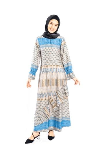 Heart n Feel Muslim blue Maxmara Dress Muslim CFCECAAF0ABB91GS_1