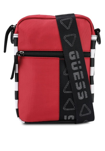 Guess red Speed Racer Crossbody Bag FC3C4ACCCF381EGS_1