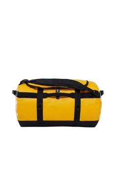 The North Face yellow TNF BASE CAMP DUFFEL - S SUMMIT GOLD TNF BLACK  CF301ACD100D1BGS 1 51c7126ea2e02