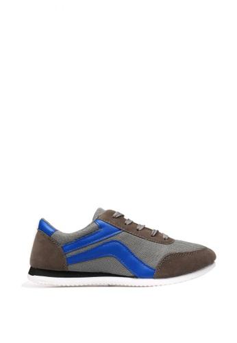 New York Sneakers grey Llew A68 Men's Sneakers AF880SH539650CGS_1