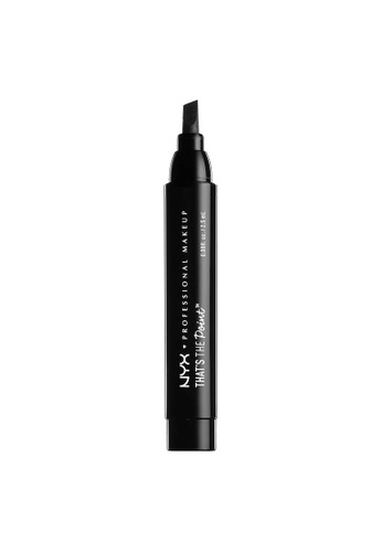 NYX Professional Makeup black NYX Professional Makeup That's The Point Eyeliner - Super Edgy EC108BECE06406GS_1