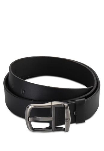 Lois Jeans Black Leather Belt I