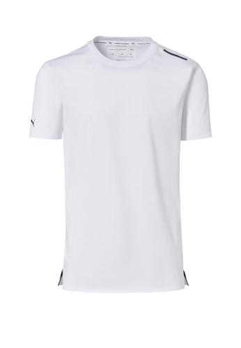Porsche Design PUMA x Porsche Design White Men's Tee Essential Sport T-Shirt for Men 2F9EFAA9C67B26GS_1