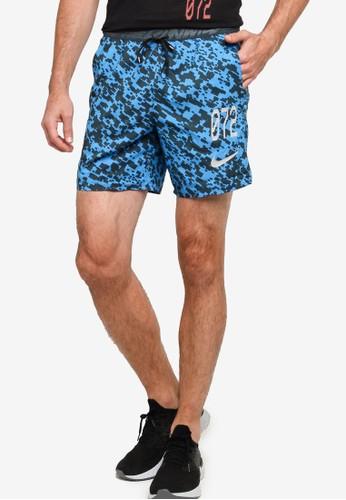 Nike blue Men's Stride Wild Run Unlined Running Shorts DB87BAA232156EGS_1