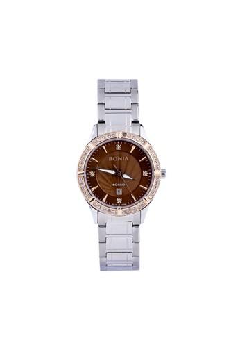 BONIA silver Bonia Rosso BR10304-2342S - Jam Tangan Wanita - Silver BO710AC0WSDQID_1