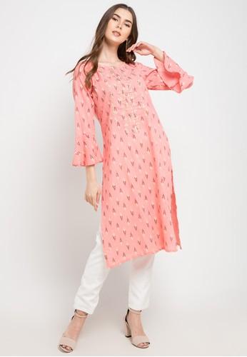 Chanira Festive Collection pink Carol Tunic 73615AA6F9CE92GS_1