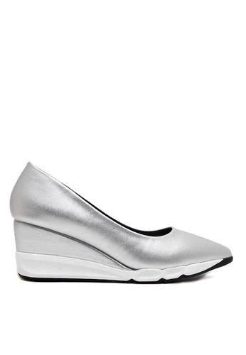 Twenty Eight Shoes 銀色 EVA 底船跟鞋 VLA93653 7BFF0SH9286800GS_1