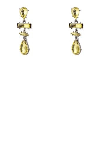 晶鑽esprit暢貨中心耳墜, 飾品配件, 耳釘