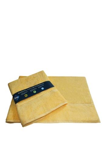 Martel yellow Martel Sanitized Bath Towel 793FBHLE098AECGS_1