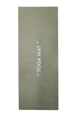 Milliot & Co. green Yoga Sport Mat (6MM) F6F29AC3E7F2F5GS_1