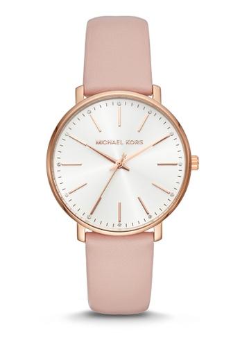 MICHAEL KORS pink Michael Kors Pyper Pink Watch MK2741 5C3D5AC398E24BGS_1