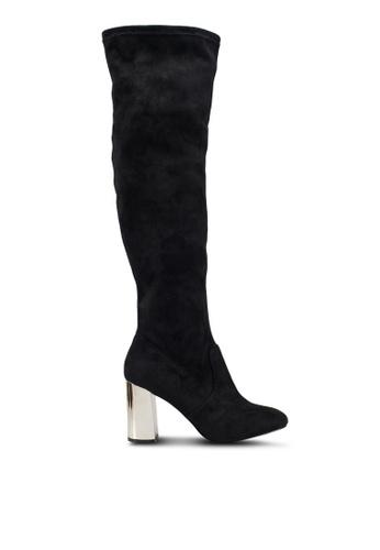 39d2babaf24 Olivia Gold Block Heels
