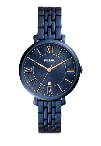 Buy Fossil Fossil Jacqueline Blue Watch Es4094 Online Zalora Malaysia