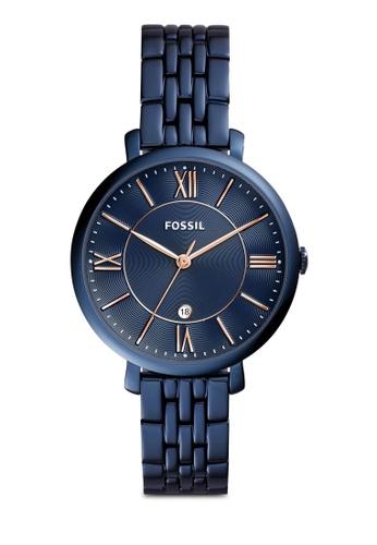 Fossil blue Fossil Jacqueline Blue Watch ES4094 FO164AC0SM4OMY_1