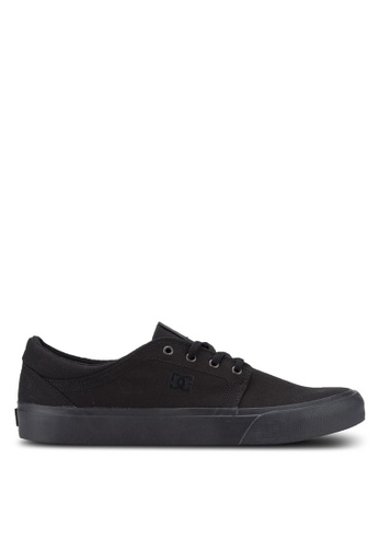 DC Shoes black Trase TX Shoes DC941SH33FEKMY_1