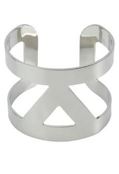 Triangular Cut-out Cuff